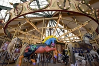 Missoula's Carousel is one of the first fully hand-carved to be built in the USA since the Great Depression